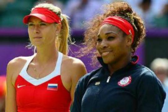 Serena, Sharapova