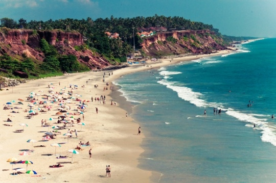 Varkala Beach, Kerala