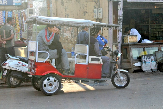 Discover Agra Beyond the Taj - In Electric Rickshaws