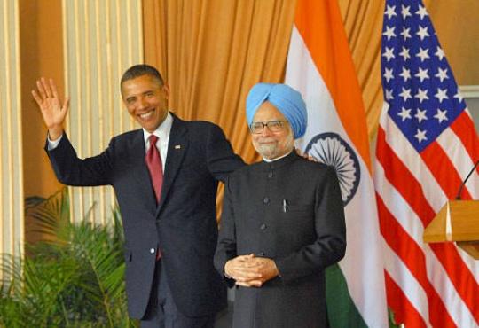 Barack Obama Invites Manmohan Singh
