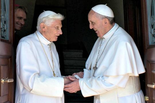 Benedict XVI, Pope Francis