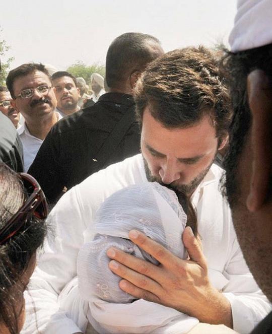 Rahul Gandhi Sarabjit Singh Cremation