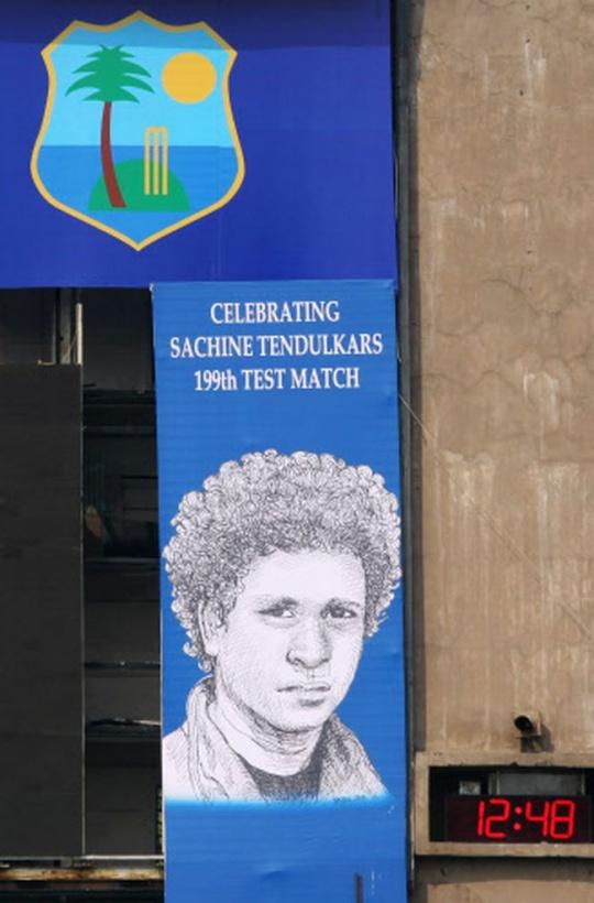 Sachin Spelling Hoarding