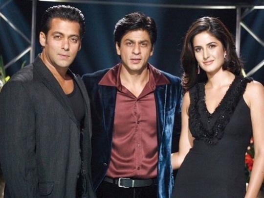 Salman Khan, Shah Rukh Khan, Katrina Kaif