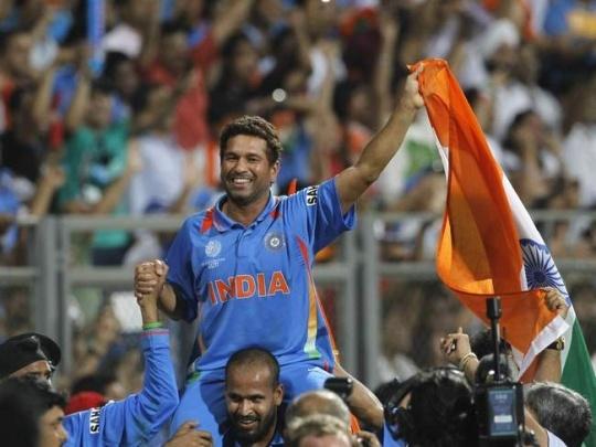 Sachin Tendulkar 2011 World Cup