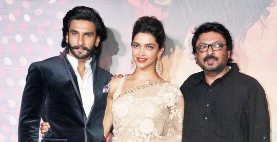 Ranveer Singh, Deepika Padukone, Sanjay Leela Bhansali