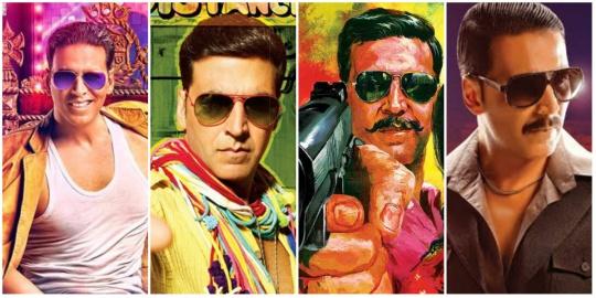 Akshay Kumar in sunglasses