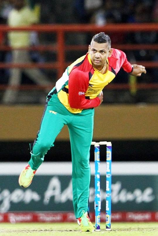 Sunil Narine (Bowler-Trinidad & Tobago)