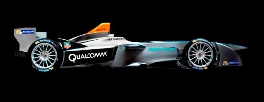 UNVEILED! New Formula E car in Frankfurt