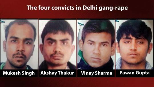Delhi Gang-rape: Death Penalty For All 4