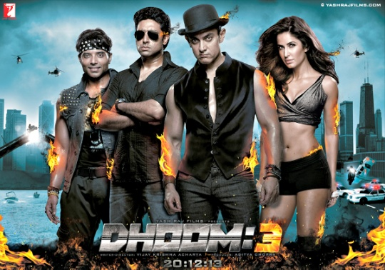 Dhoom 3 Official Game Released | Download available for Android, Windows & IOS devices
