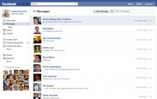Facebook Other Messages