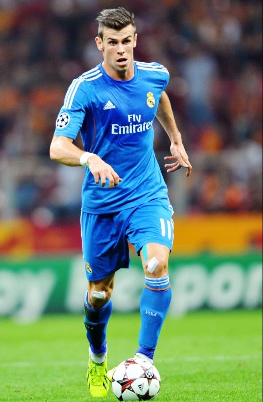 Gareth Bale Threatens Usain Bolt's Title