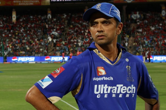 Rajasthan Royals skipper Rahul Dravid