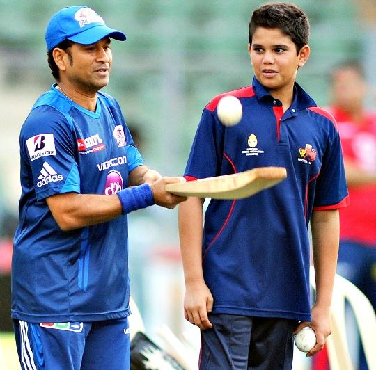 Sachin Tendulkar, Arjun