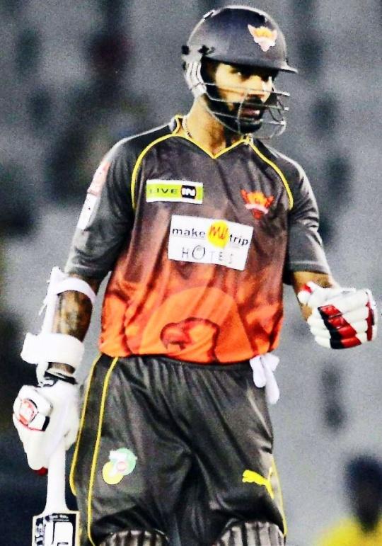 Shikhar Dhawan (Sunrisers Hyderabad)