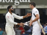 England fast bowler James Anderson and India all-rounder Ravindra Jadeja have been found not guilty of breaching the International Cricket Council (ICC) code of conduct and are free to play in next week's fourth test at Old Trafford.