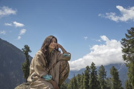 Alia Bhatt in Kashmir