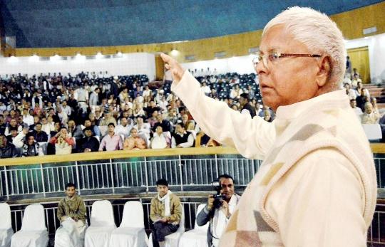 RJD president Lalu Prasad