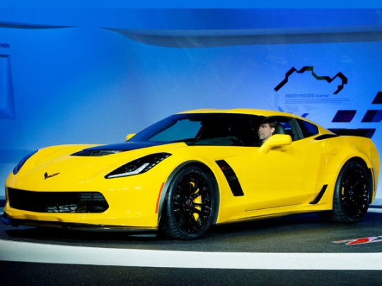 Chevrolet Unveils the 2015 Corvette Z06