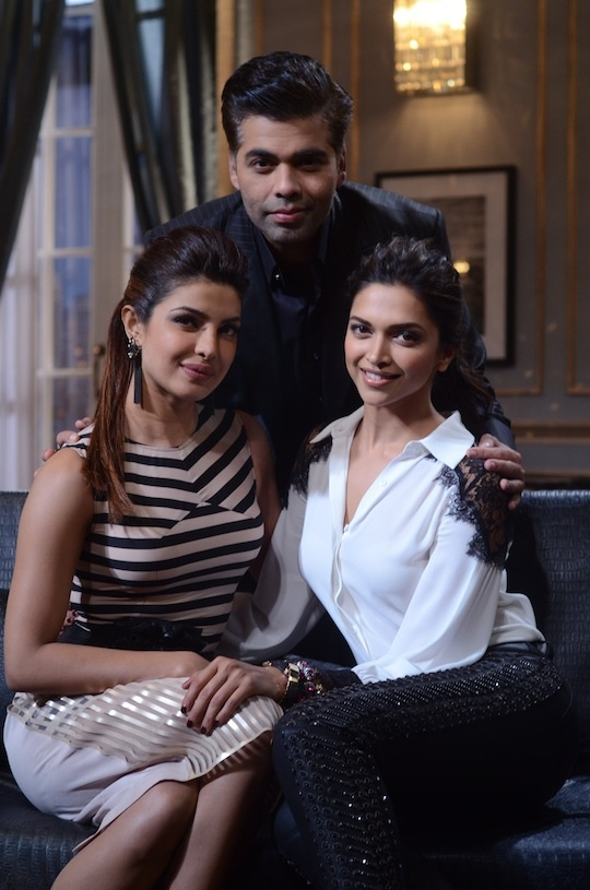 Priyanka Chopra, Deepika Padukone on Koffee With Karan