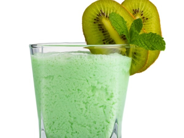 Healthy Drink: Kiwi-Mint Smoothie Recipe