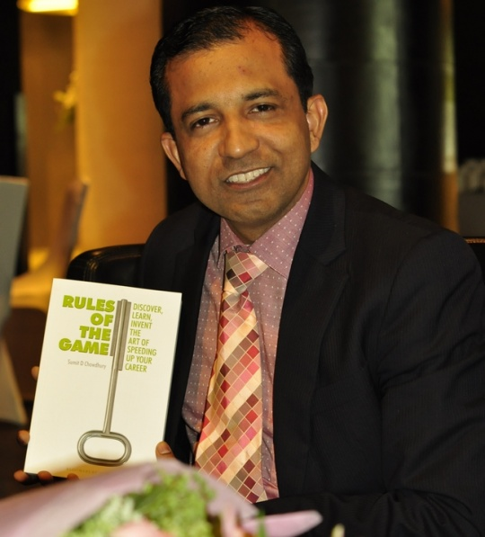 Author Sumit Chowdhury Talks About the 'Rules of the Game'