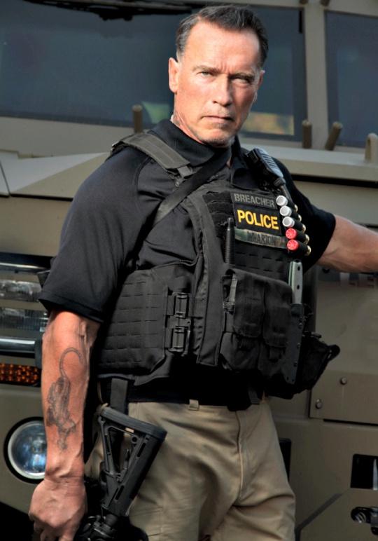 'Sabotage' Haircut Was Pitiful: Arnold Schwarzenegger ...  'Sabotage&#...