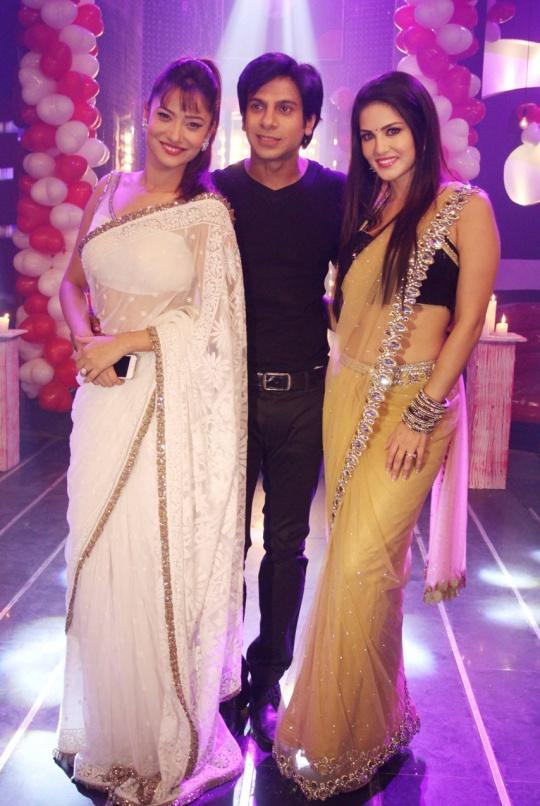 Ankita Lokhande, Karan Mehra, Sunny Leone
