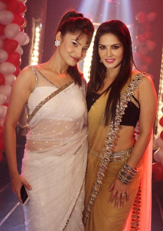 Ankita Lokhande and Sunny Leone
