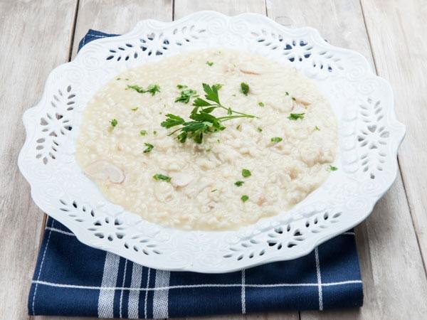 Healthy Recipe: Creamy Mushroom Risotto
