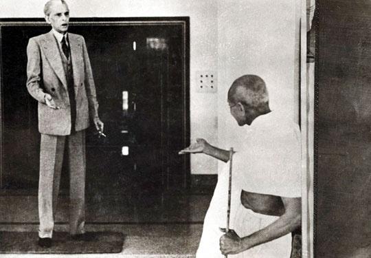 Gandhi and jinnah