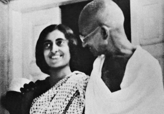Gandhi and Indira
