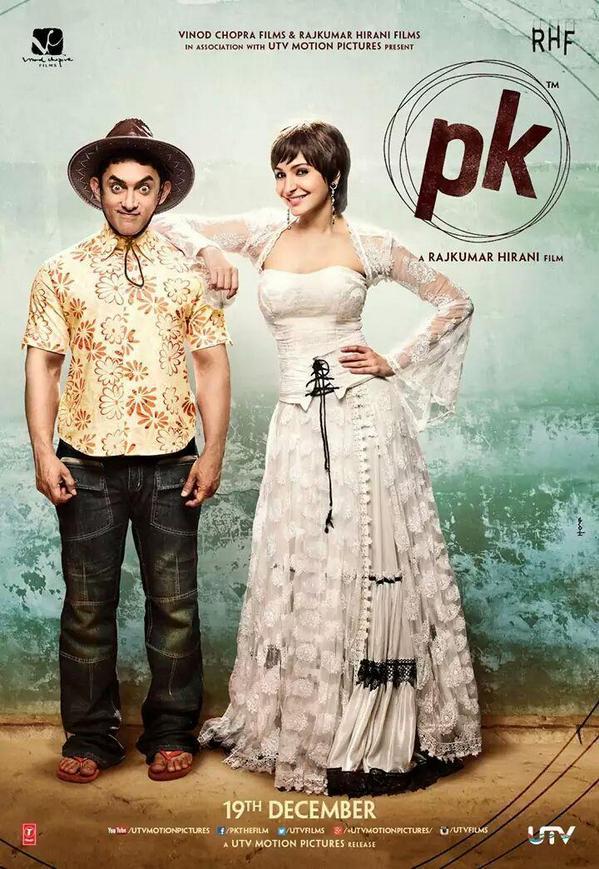 PK (2014) DM DVD 1080P - Aamir Khan, Anushka Sharma, Sushant Singh Rajput, Sanjay Dutt, Ram Sethi
