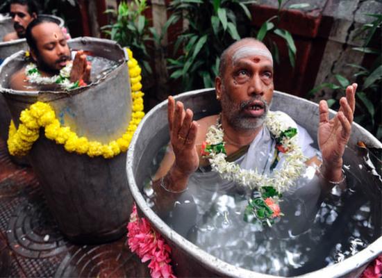 Indian prayer ceremony funny