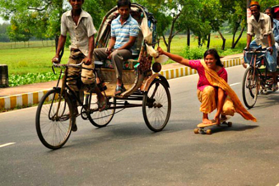 skating girl india