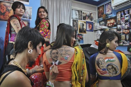 Going Gaga Over Modi
