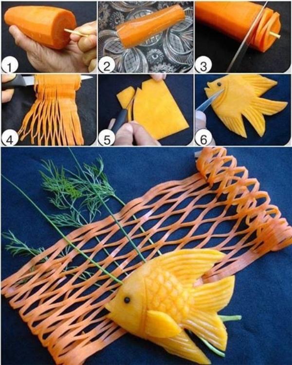 food art fish