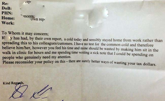Leave Letter to Boss