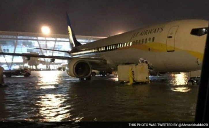 Chennai Airport Flooding