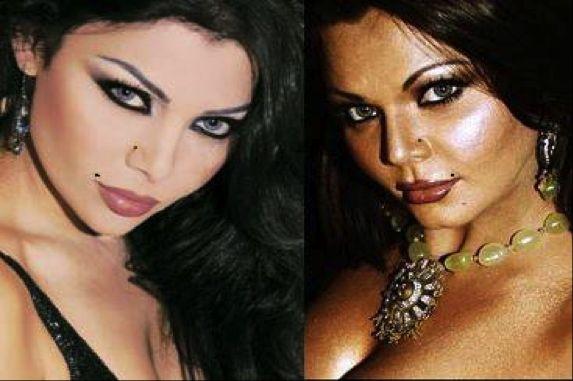 Rakhi Sawant - Haifa Wehbe
