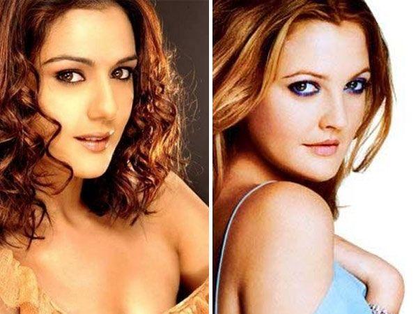 Preity Zinta - Drew Barrymore