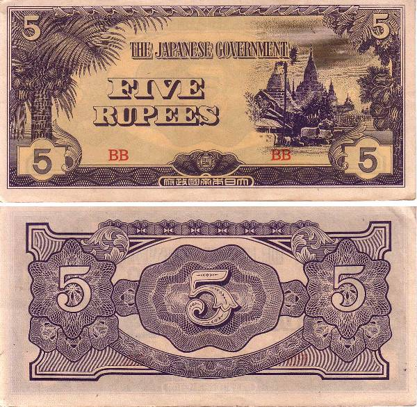 Rupee Note Denominations Using Indian Rupee Notes