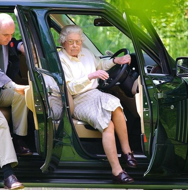 Queen drives