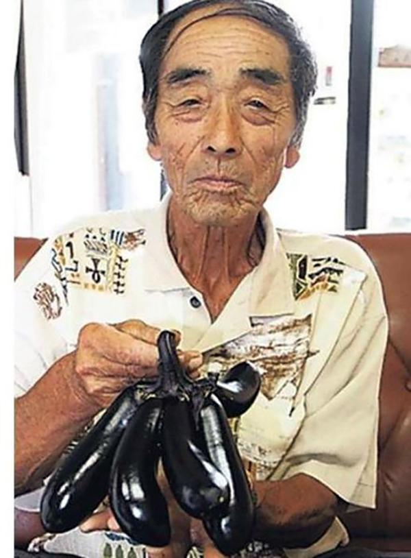 multi tentacled fukushima brinjal