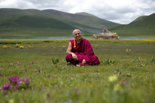 Monk Matthieu Ricard