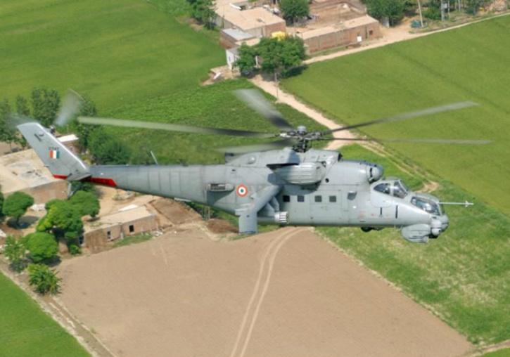 IAF Mi-35
