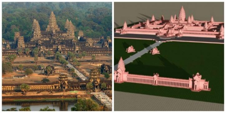 World Biggest Hindu Temple Hindu Temple And a World