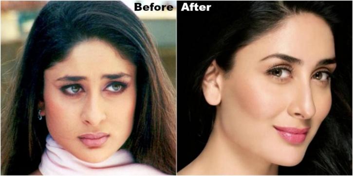 Image result for kareena kapoor eyebrow makeover