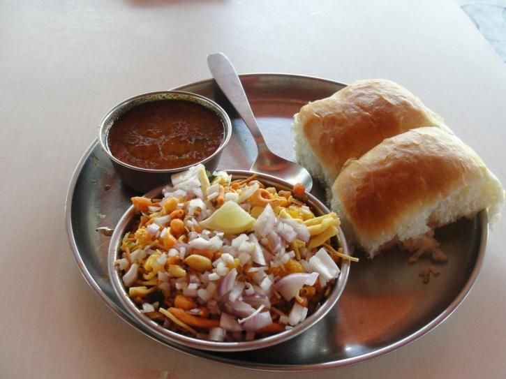 Missal Pav Breakfast. Image Courtesy: Indiatimes.com